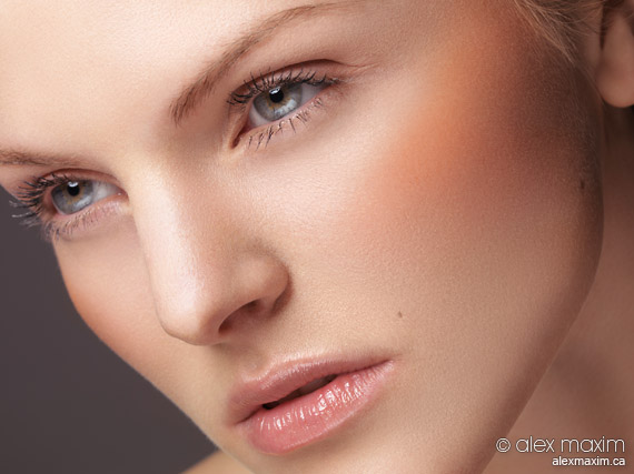 Beauty retouching samples